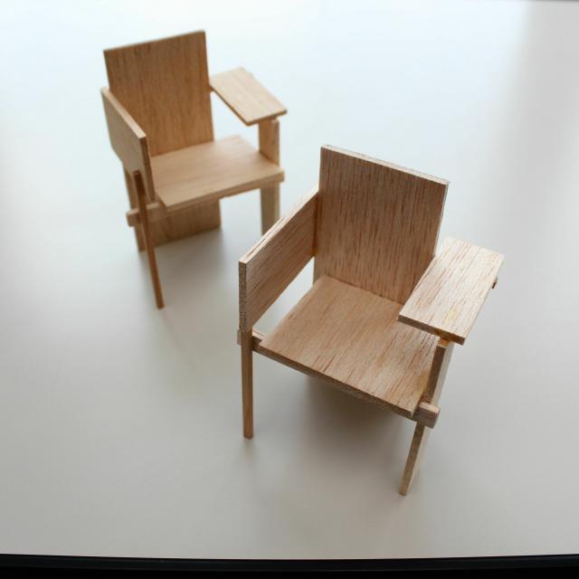 専門学校 東京テクニカルカレッジ [インテリア科]半日体験~「椅子のミニチュアをつくろう!」1