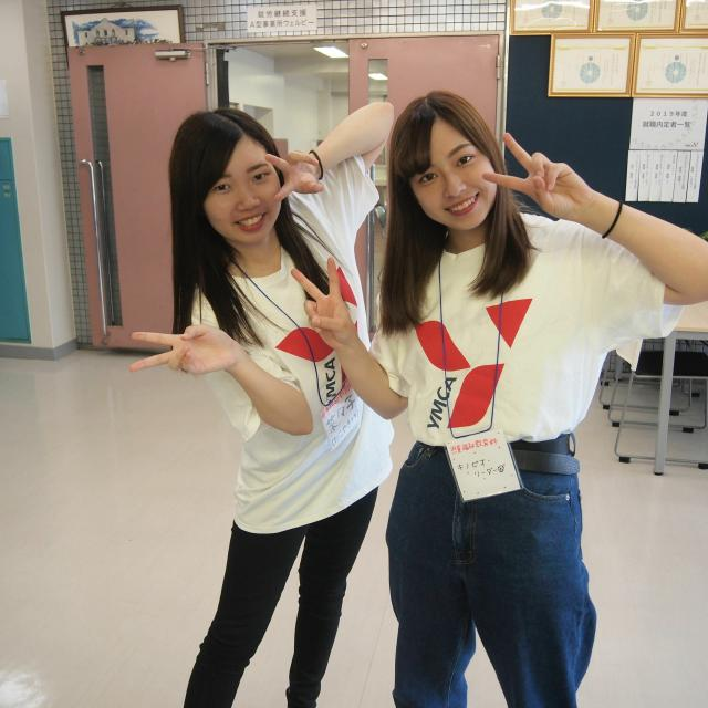 専修学校熊本YMCA学院 2021年度オープンキャンパス1