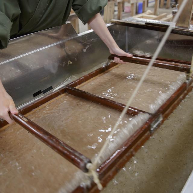 京都伝統工芸大学校 工芸体験キャンパス2019 和紙工芸1