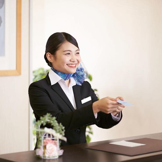 名古屋外語・ホテル・ブライダル専門学校 OPEN CAMPUS 国際ホテルコースへ参加!1