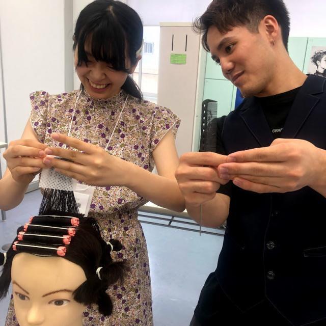 日本美容専門学校 2021 体験入学 【専門科】2
