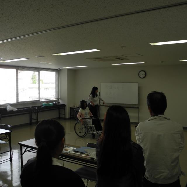 兵庫県立総合衛生学院 【介護福祉学科】2/2 オープンキャンパス3