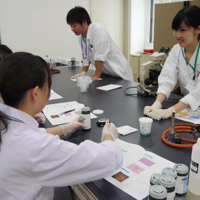 東武医学技術専門学校 臨床検査技師を知る!体験できる!1日です♪2