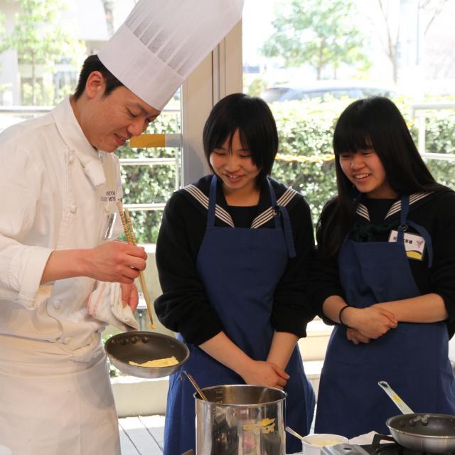 宮城調理製菓専門学校 体験実習!フランス料理・イタリア料理専攻&日本料理・すし専攻1