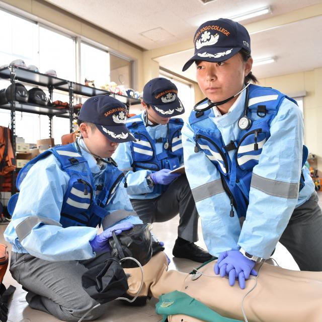 さくら総合専門学校 【2018】救急救命科オープンキャンパス3