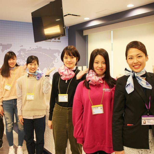 ホスピタリティ ツーリズム専門学校大阪 放課後オープンキャンパス【エアライン】1