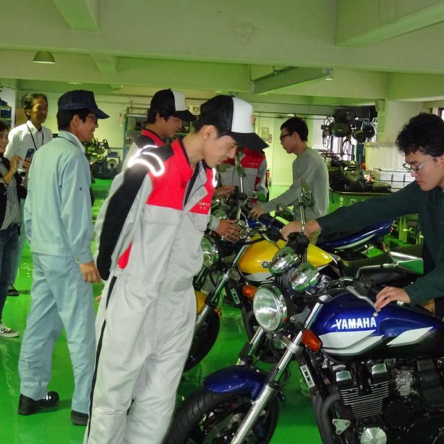 専門学校 広島自動車大学校 オープンキャンパス3
