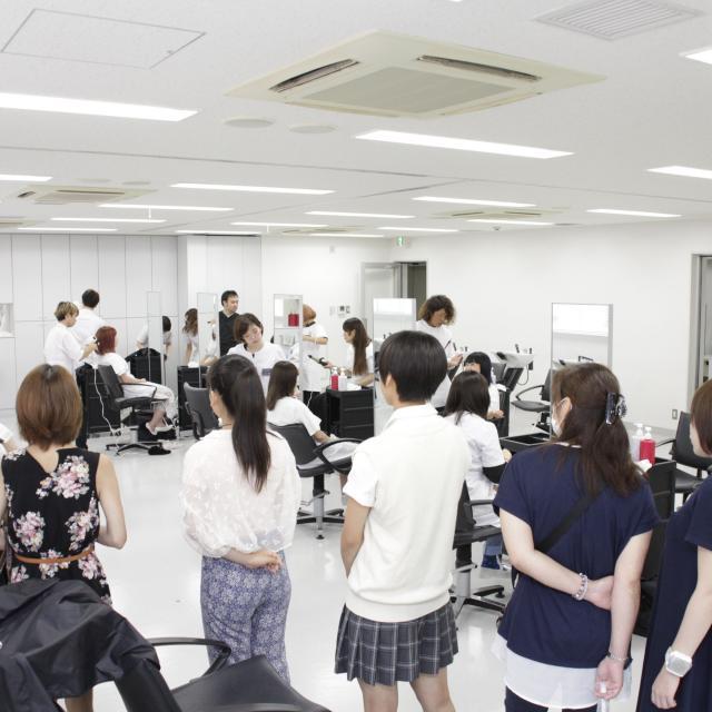 国際文化理容美容専門学校渋谷校 学校見学会2