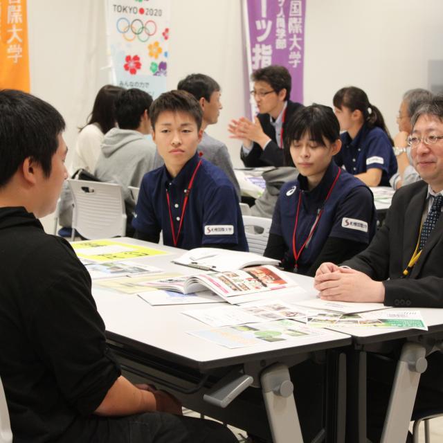 札幌国際大学 【スポーツビジネス学科】大好きなスポーツに関われるお仕事は?3