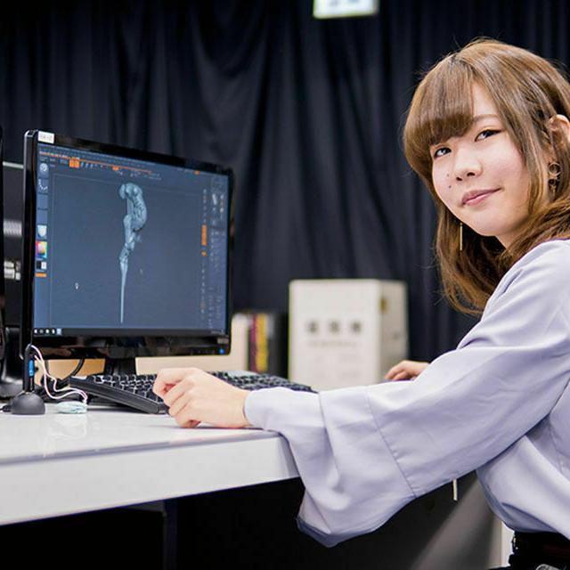 大阪デザイナー専門学校 【来校型】はじめてのゲーム・CG講座4