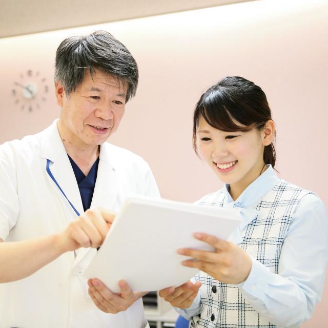 広島医療秘書こども専門学校 現場で働く卒業生来校イベント2
