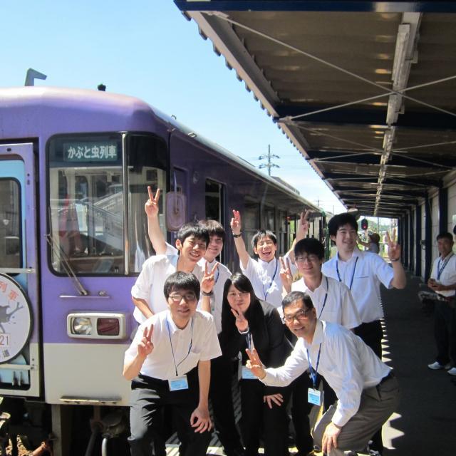 大阪観光専門学校 鉄道業界フェス1