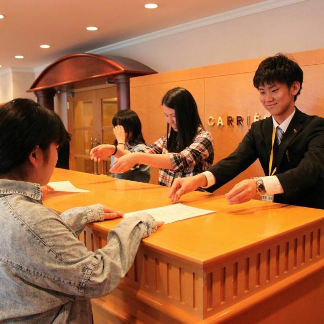 京都ホテル観光ブライダル専門学校 3/29(火)京都の有名ホテルを見学♪ホテル見学フェスタ4