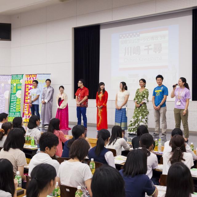 神田外語大学 オープンキャンパス4