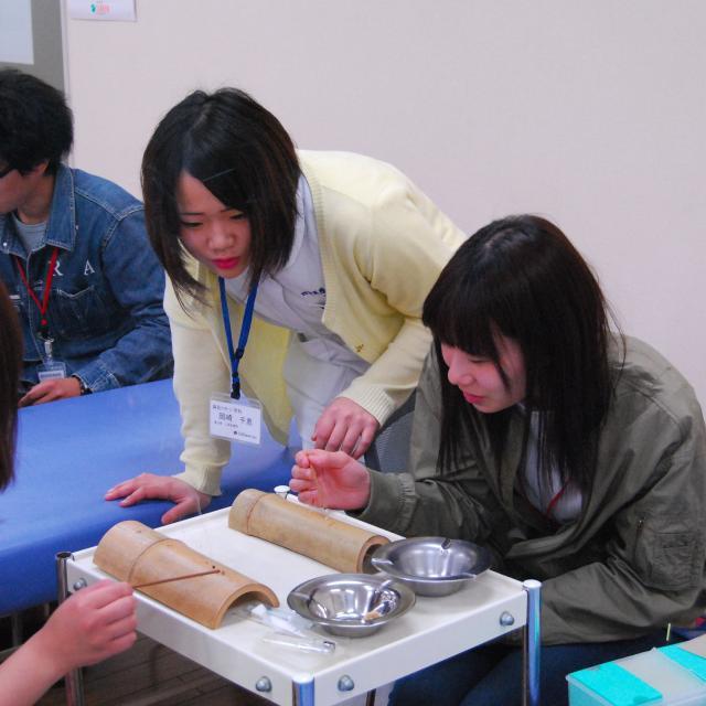 四国医療専門学校 鍼灸マッサージ学科・鍼灸学科 オープンキャンパス20182