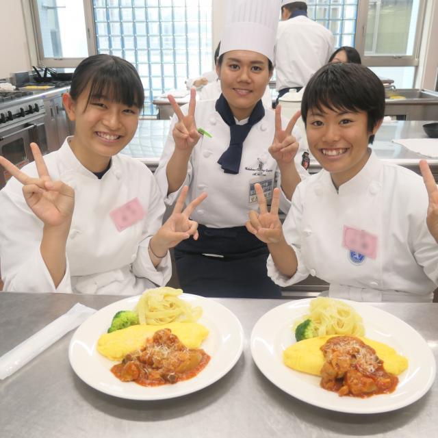 横浜調理師専門学校 夏休みも終盤だけどオープンキャンパス!3