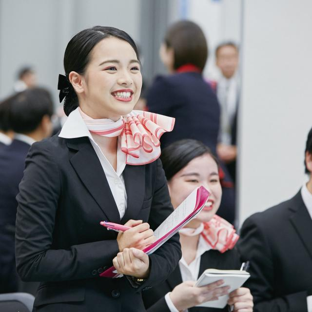 大阪観光専門学校 【エアライン学科】8・9月 体験入学1