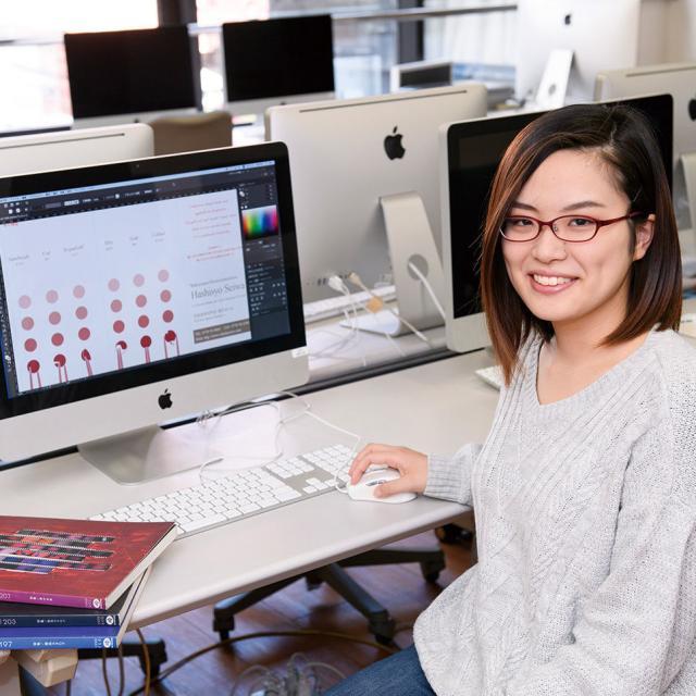 専門学校 九州デザイナー学院 11月の体験入学(グラフィックデザイン)3