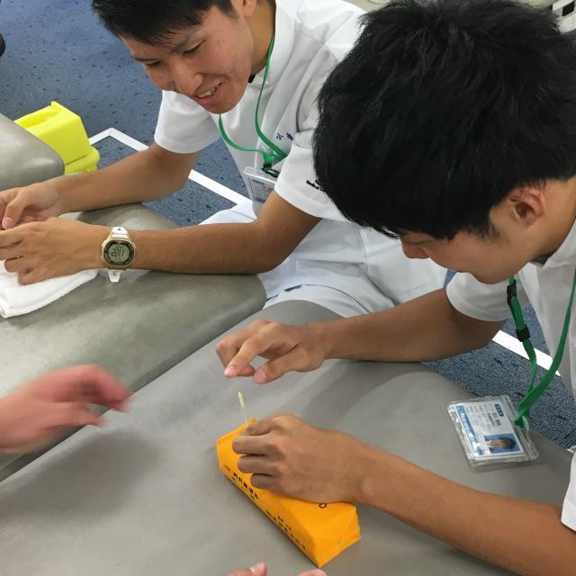 専門学校白寿医療学院 2018年度 7/28(土)入試対策オープンキャンパス3