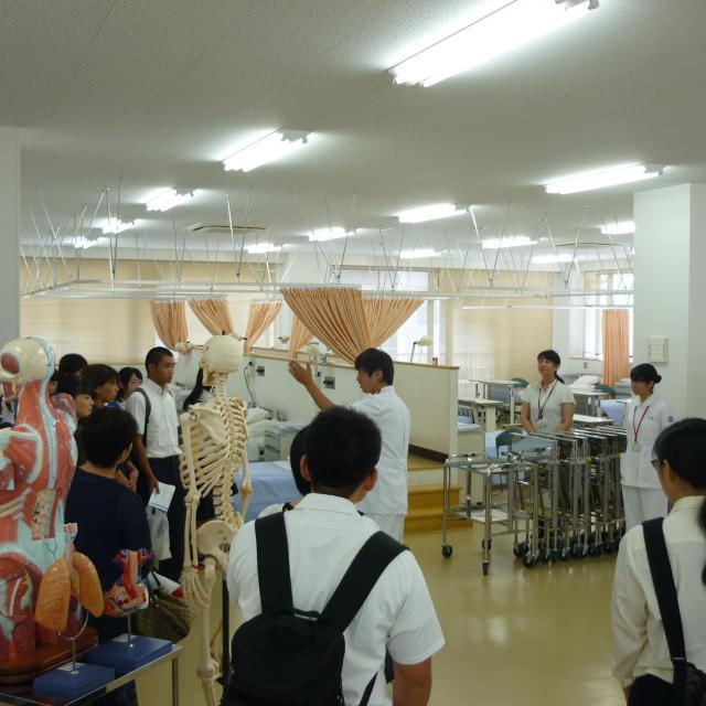 広島都市学園大学 【看護学科】オープンキャンパス2