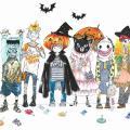 神戸ファッション専門学校 10/9 ハロウィンイラストレーション