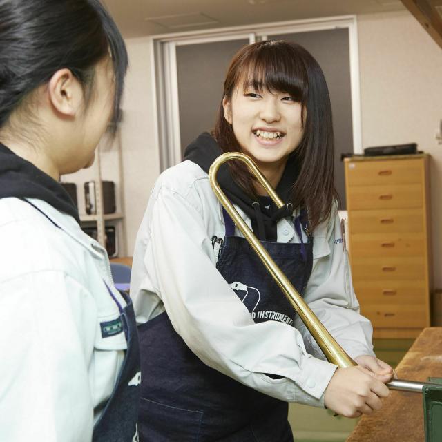 中部楽器技術専門学校 在学生と体験授業&学校説明【管楽器リペア科】4