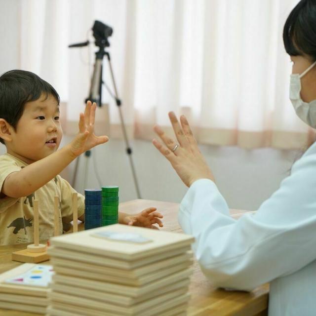 日本福祉教育専門学校 ことばの相談室見学会1