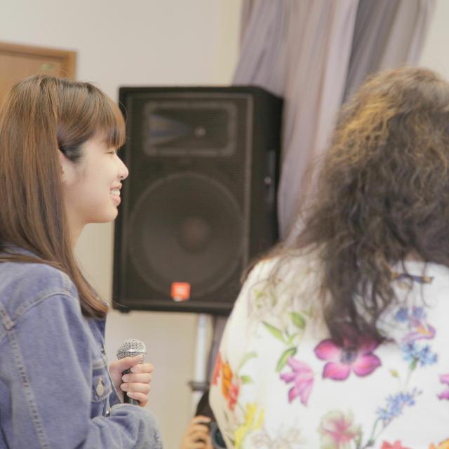 経専音楽放送芸術専門学校 初心者歓迎!!プロから学べるヴォーカルレッスン1