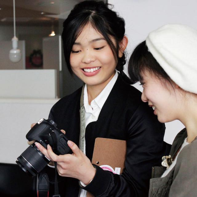 専門学校 九州スクール・オブ・ビジネス 6月の体験入学(マスコミ広報)1