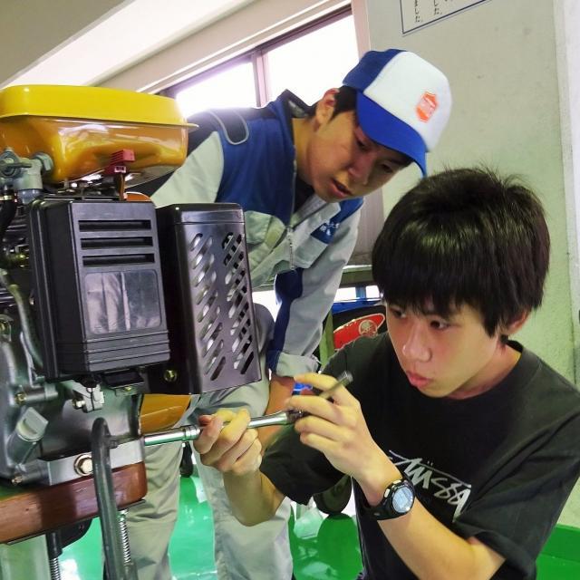 専門学校 広島自動車大学校 オープンキャンパス1