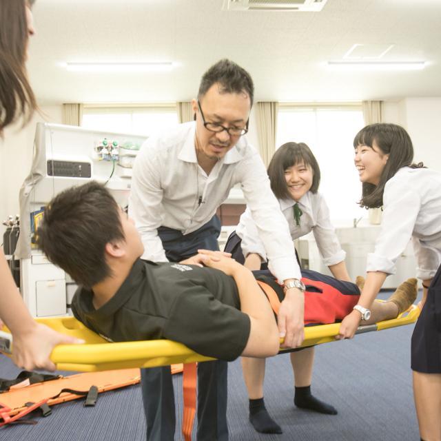 新潟医療福祉大学 【救急救命士】の仕事体験!救急現場の実際を見てみよう!1