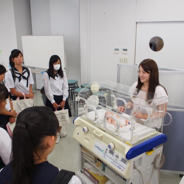 姫路大学 学校見学会1