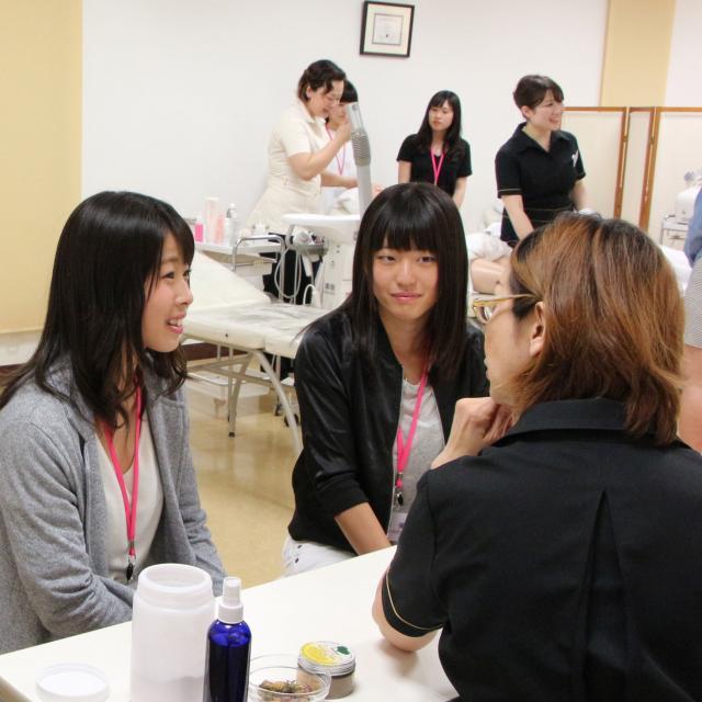 2017 NICHIBI 体験入学【総合美容科】