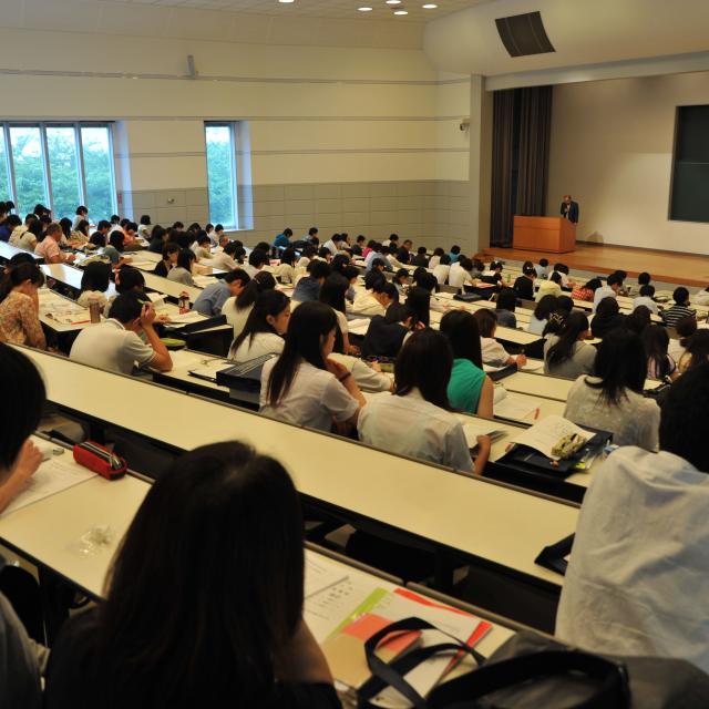 北里大学 入試説明会・入試直前対策講座1