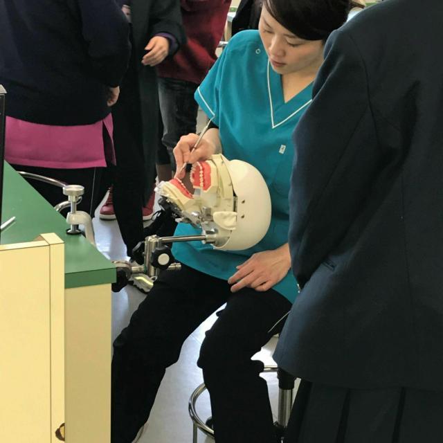 三河歯科衛生専門学校 体験入学2