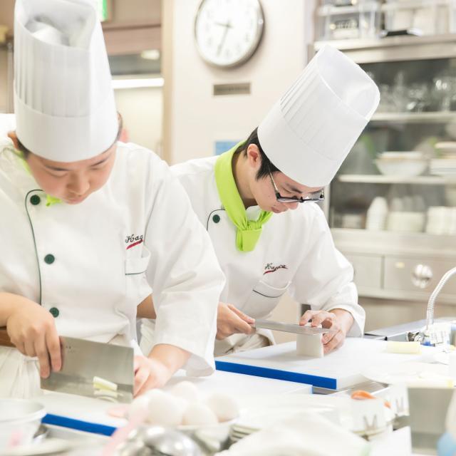 香川調理製菓専門学校 体験入学セミナー(調理コース)4