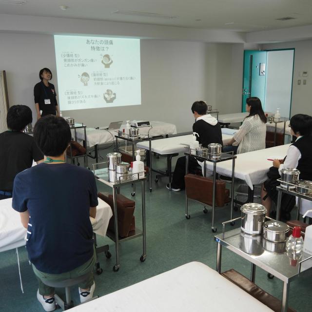 東京医療福祉専門学校 授業体験会4