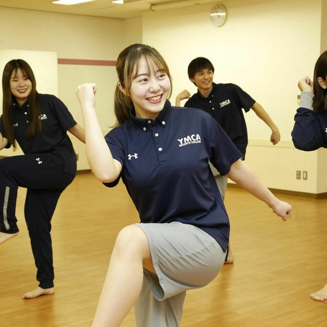 横浜YMCAスポーツ専門学校 YMCAスポーツクラブでエアロビックエクササイズ!※軽食付き1