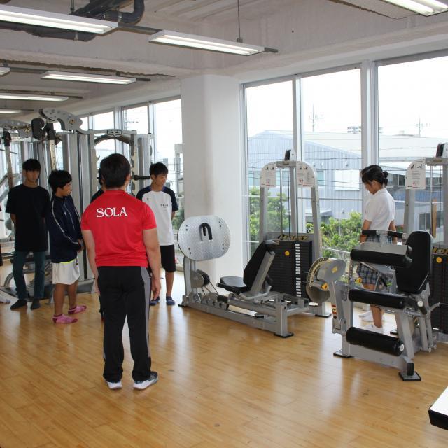 SOLA沖縄保健医療工学院 スポーツ科学CSトレーナー学科4