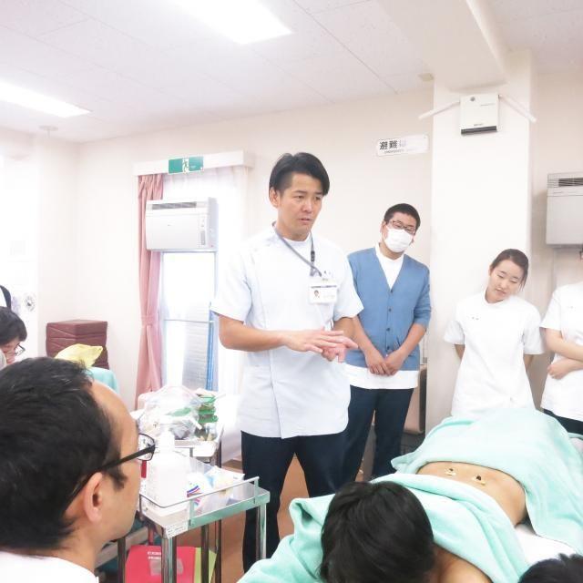 東洋鍼灸専門学校 夜間部のはり灸実技授業を見学しよう!2