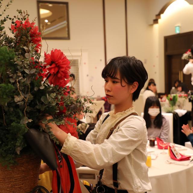 専門学校名古屋ウェディング&フラワー・ビューティ学院 【模擬結婚式&披露宴】3