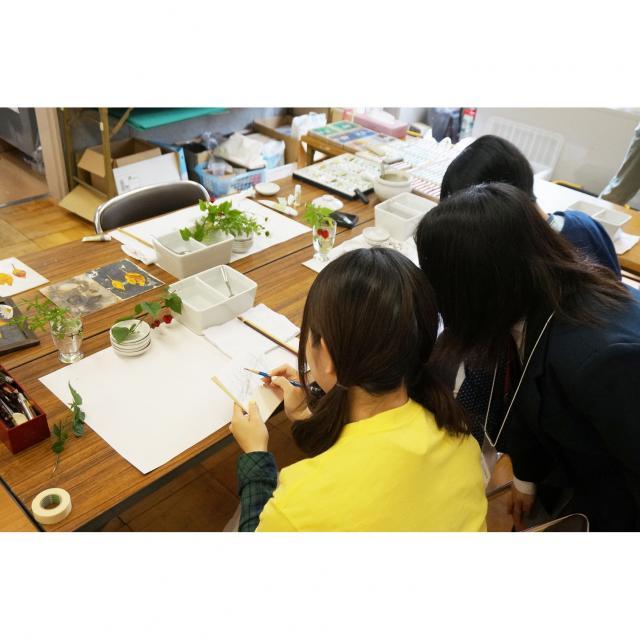 奈良芸術短期大学 7/25実技体験&デッサン指導!3