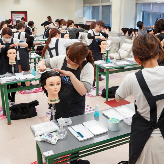 名古屋ファッション・ビューティー専門学校 ビューティープレイヤーを目指すオープンキャンパス☆4