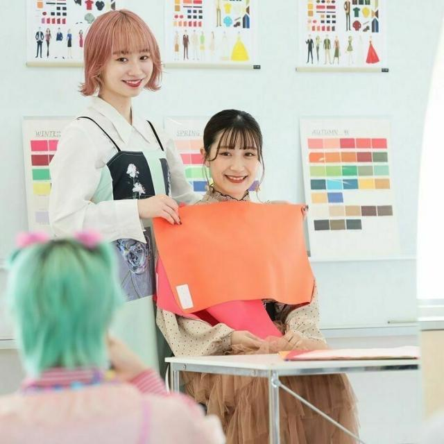 名古屋ファッション専門学校 10月24日・カラーコーディネート体験・ガイダンス1