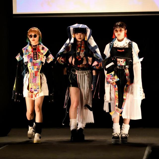 香蘭ファッションデザイン専門学校 『KORAN COLLECTION』+ビジネス科SHOP1
