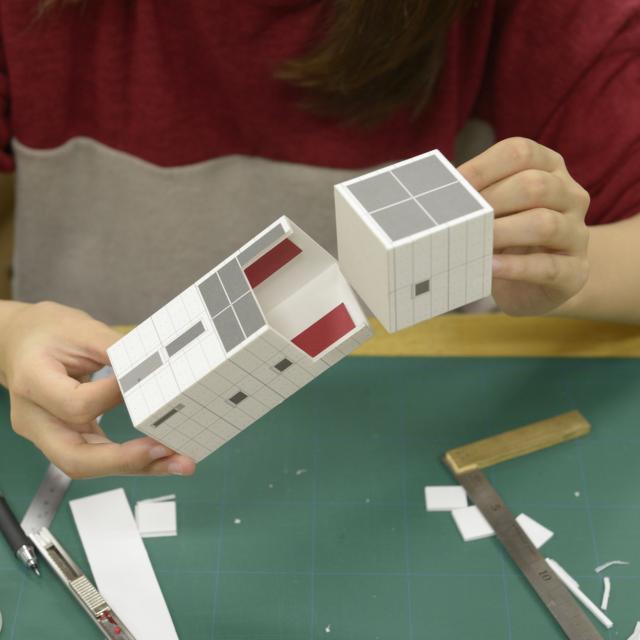 東海工業専門学校金山校 B:建築模型コース2