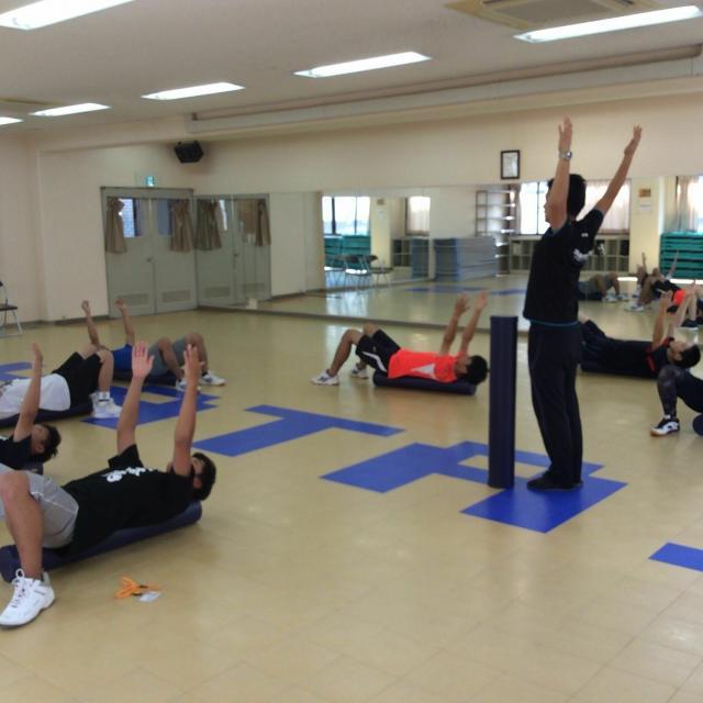 大阪社体スポーツ専門学校 ★コアコンディショニングの体験授業★1