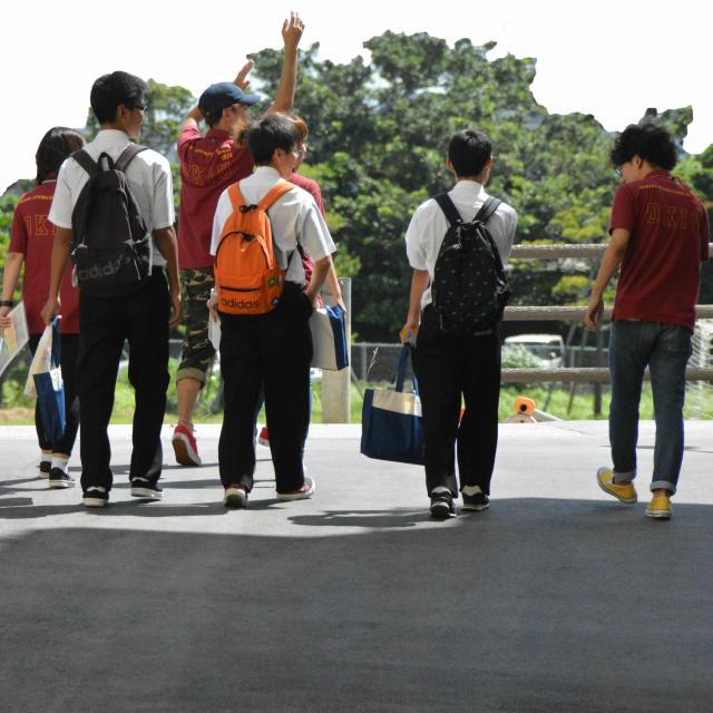 沖縄国際大学 2021 オキコク夏のオープンキャンパス3