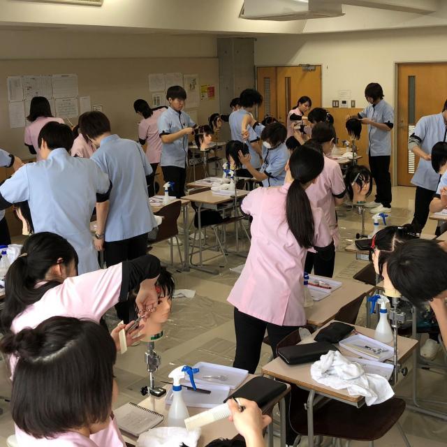 仙台理容美容専門学校 体験入学会2