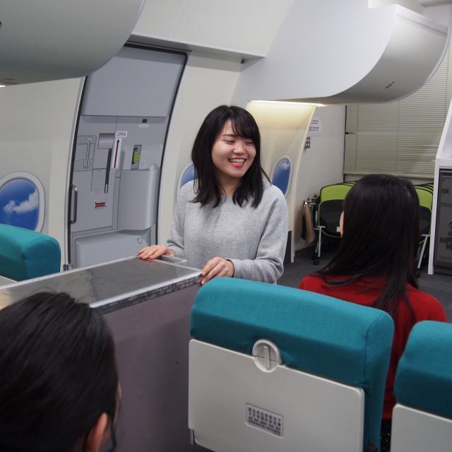 大阪観光専門学校 ◆ エアポート学科 11月体験入学 ◆2